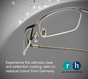 Experience the ultimate clear anti-reflective coating, with no residual color from Germany